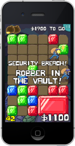 Watch out for the robbers - they're after your jewels!
